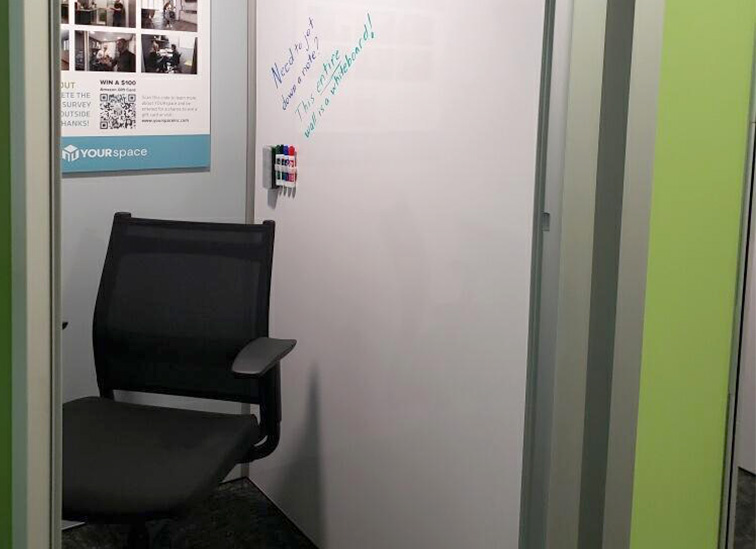 YOURspace Installs Work Pods in the Fort Wayne Airport 2
